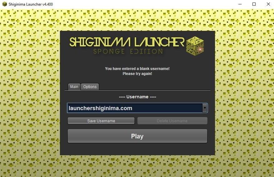 4 Nuevo Usuario Para Launcher Shiginima Minecraft Pc
