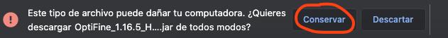 Preserve Optifine Mac File