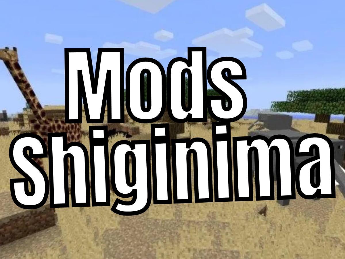 Mods In Shiginima Launcher Minecraft